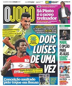 Capas De Desporto Jornais E Revistas Sapo 24