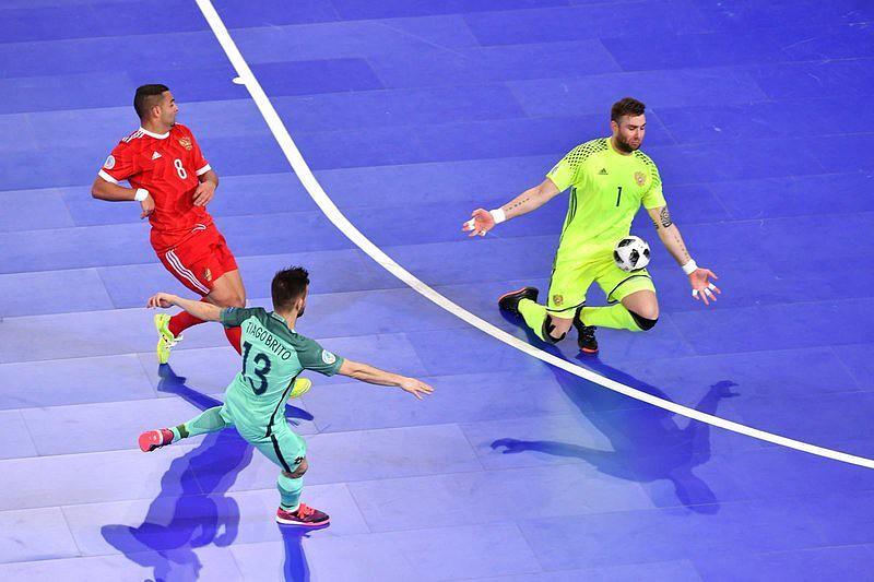 Euro futsal: Tiago Brito marca golo de Portugal frente a Rússia