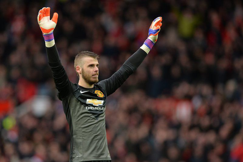 De Gea • PETER POWELL / EPA