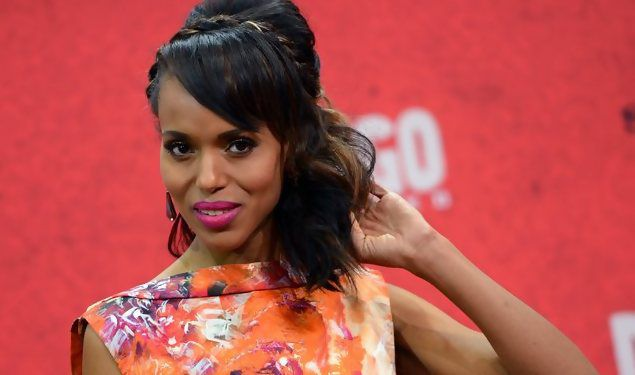 epa03528172 US actress/cast member Kerry Washington arrives for the premiere 'Django Unchained' at Cinestar cinemas in Berlin, Germany, 08 January 2013. The film will be released in German cinemas on 17 January 2013.
