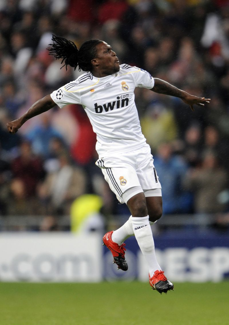 Royston Drenthe jogou no Real Madrid