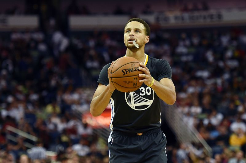 Stephen Curry • Stacy Revere / GETTY IMAGES NORTH AMERICA / AFP