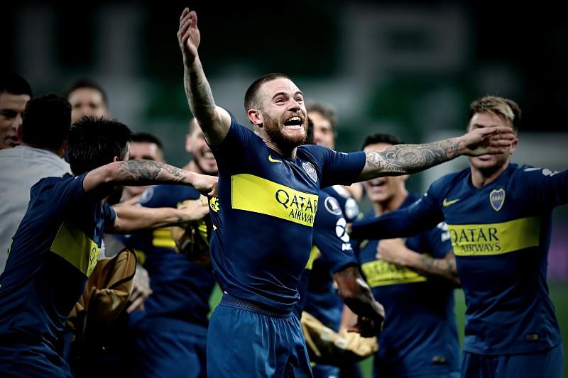 Boca afasta Palmeiras e promove primeira final argentina na Taça  Libertadores f8c34240def06