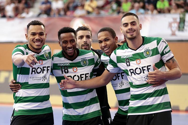 Sporting estreia-se a vencer na Liga dos Campeões de futsal ... 789def5e27b6e