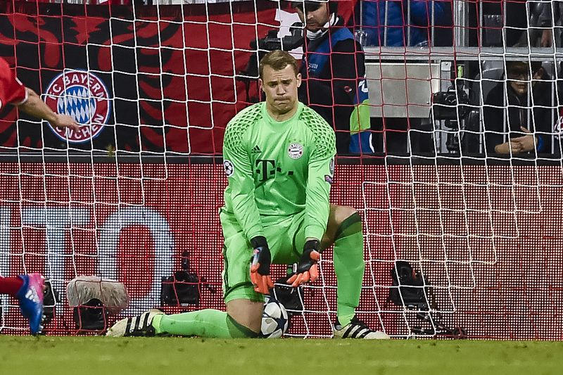 Manuel Neuer, guarda-redes do Bayern Munique • AFP