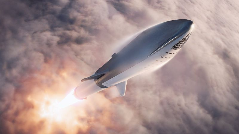 Big Fu**ing Rocket da SpaceX agora é Starship