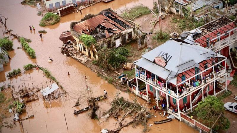 Resultado de imagem para ciclone moçambique