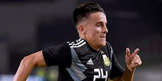 567f634efc VÍDEO. Cervi fez de Messi e marcou um golaço na goleada da Argentina
