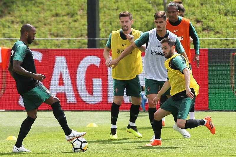 Seleção portuguesa prossegue trabalhos na Cidade do Futebol para o Mundial  2018 0171649098525