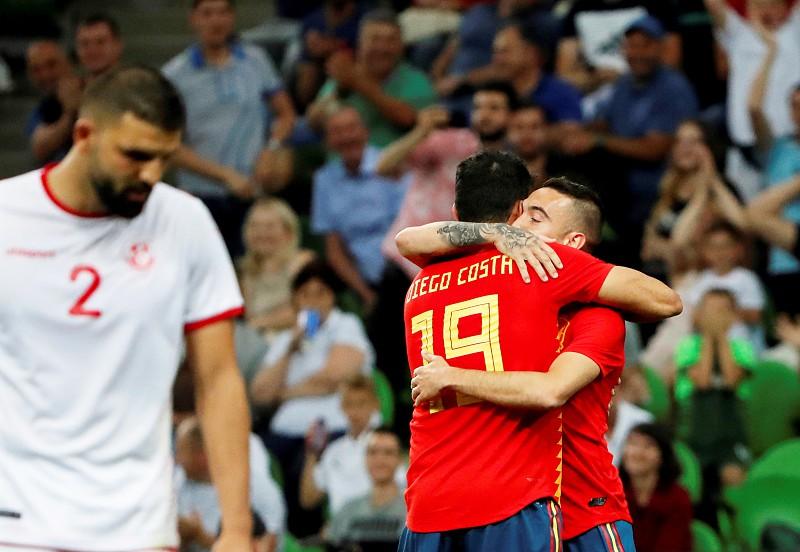 Mundial 2018  Espanha vence Tunísia a seis dias de defrontar Portugal 9e6123f6b656b