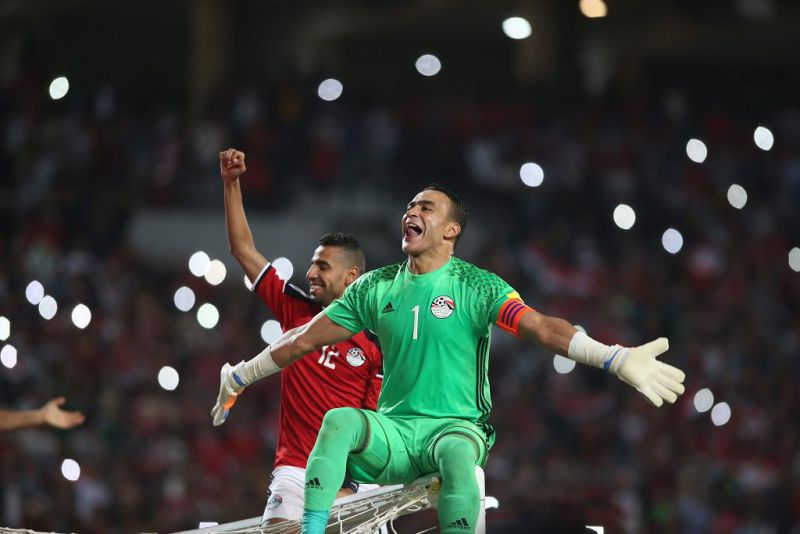Essam El Hadary, guarda-redes do Egito