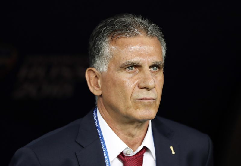 Carlos Queiroz revela o que disse ao ouvido de Moutinho