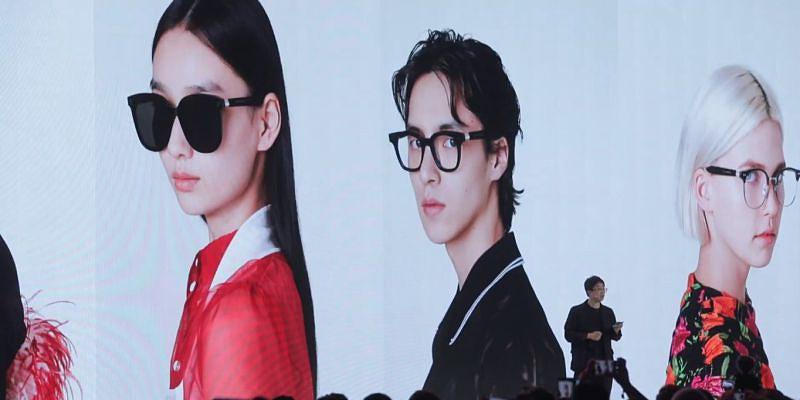 b8781a83a Huawei estabelece parceria com Gentle Monster e apresenta óculos  inteligentes