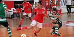 5bcfbd9783 Futsal feminino  Benfica vence dérbi frente ao Sporting e aumenta vantagem  na liderança