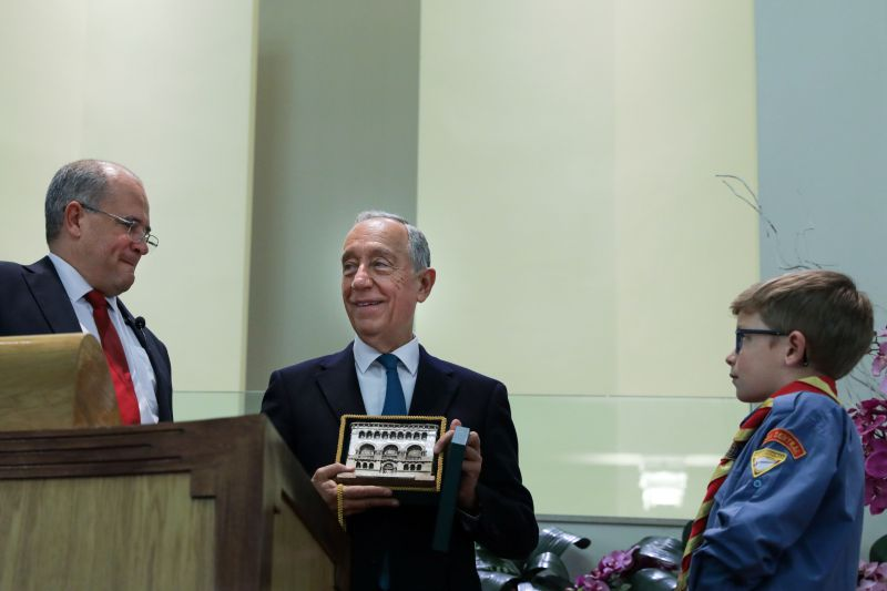 Presidente agradece contributo da Igreja Adventista para Portugal