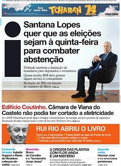 Capas Nacionais Jornais E Revistas Sapo 24