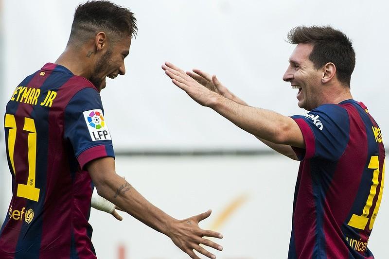 Messi e Neymar garantem vitória do líder Barcelona - La Liga - SAPO ... db76b775becc0