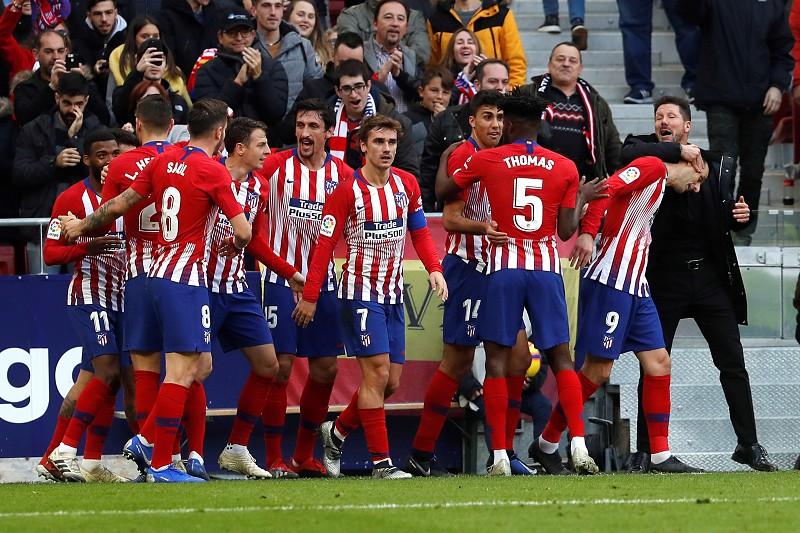 Atlético Madrid vence equipa sensação da Liga espanhola e assume liderança  provisória f418dca115612