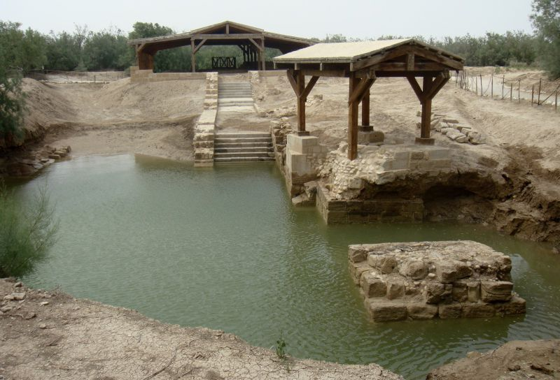 Uma viagem pelo rio Jordão, onde Jesus Cristo foi batizado. Este é um dos locais mais sagrados da Terra Santa