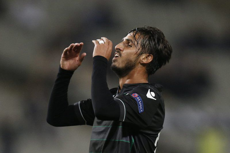 Bryan Ruiz • Extremo do Sporting. • Lusa