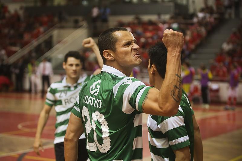 0079780c33 Futsal  Sporting vence Benfica no primeiro jogo da final do campeonato