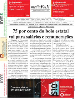 Capas Nacionais Jornais E Revistas Sapo Notícias