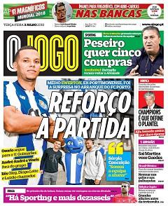 Capas Dos Jornais Desportivos Página 147