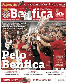 Capas De Desporto Jornais E Revistas Sapo Notícias