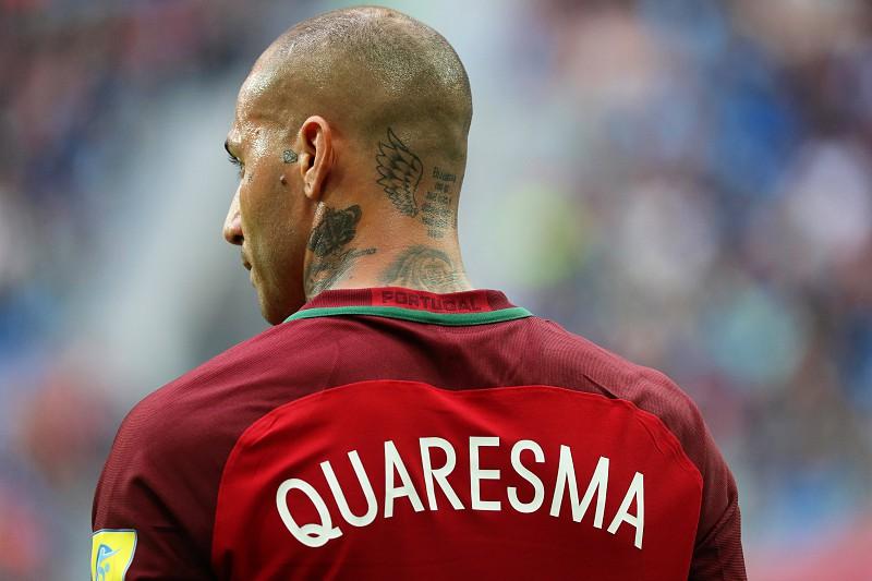 851b763dbb Quaresma coloca Portugal em vantagem ao intervalo - Mundial 2018 ...