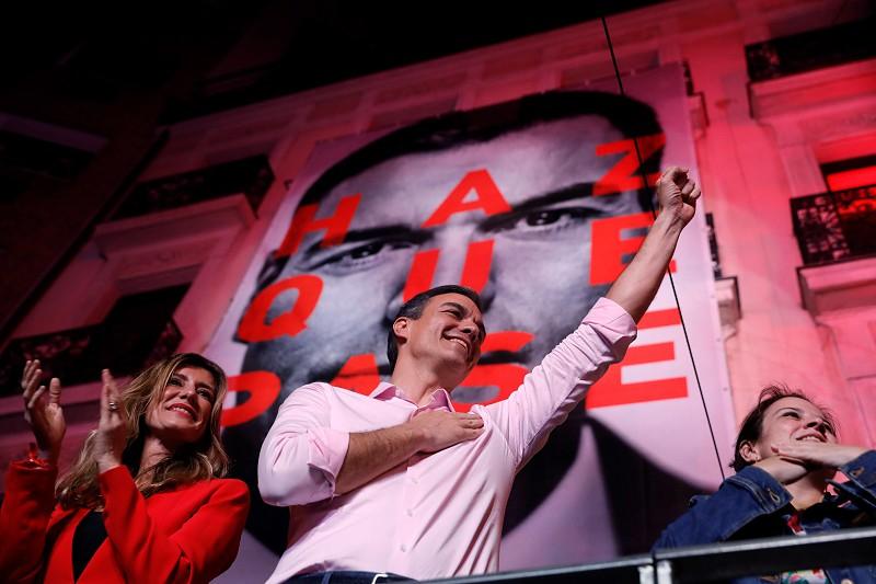Resultado de imagem para Espanha: PSOE vence sem maioria em eleições marcadas por resultado histórico do Vox