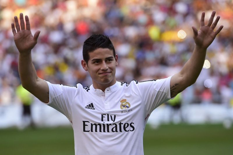 Real Madrid cede James Rodriguez ao Bayern Munique