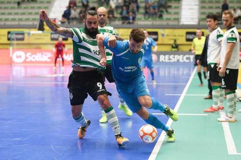 Sporting arranca com uma vitória na ronda de elite da UEFA Futsal ... 31e386d001de6
