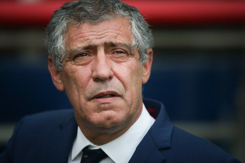 Russia vs Portugal • epa06041422 Portugal's national soccer team head coach Fernando Santos before the FIFA Confederations Cup Group A match between Russia and Portugal at Spartak Stadium, in Moscow, Russia, 21 June 2017.  EPA/MARIO CRUZ
