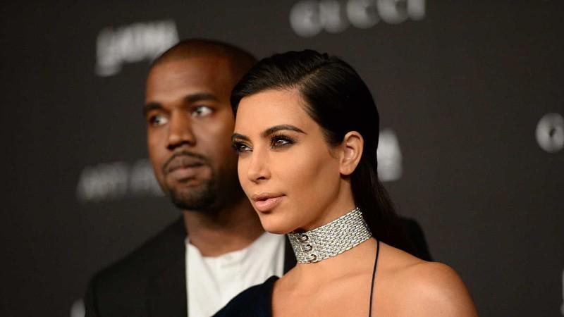 Kim Kardashian e Kanye West à beira do divórcio