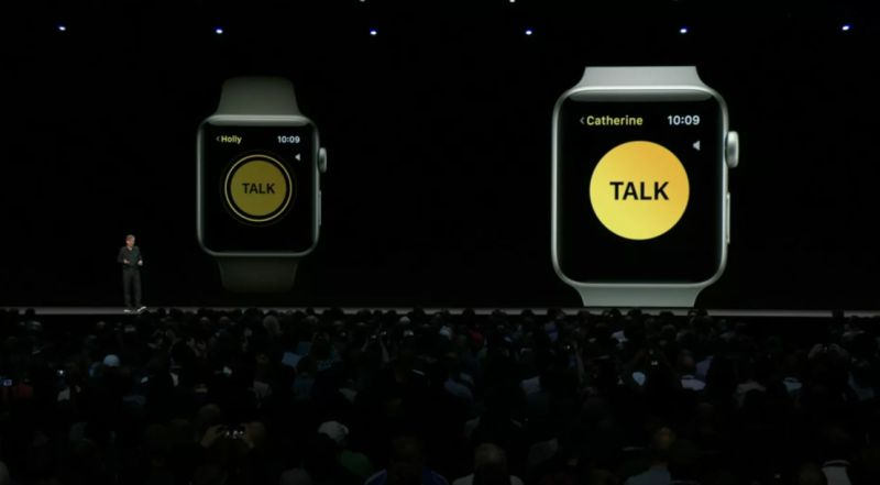 Apple Watch transformado num walkie-talkie com a chegada do watchOS 5