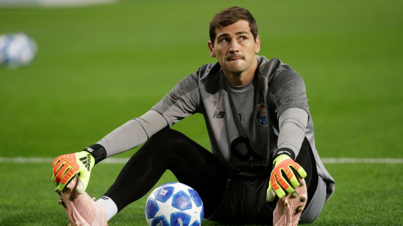 Iker Casillas recorda 'tesourinho' do ano 2000