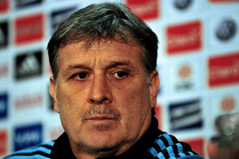 Gerardo Martino • PAUL ELLIS / AFP