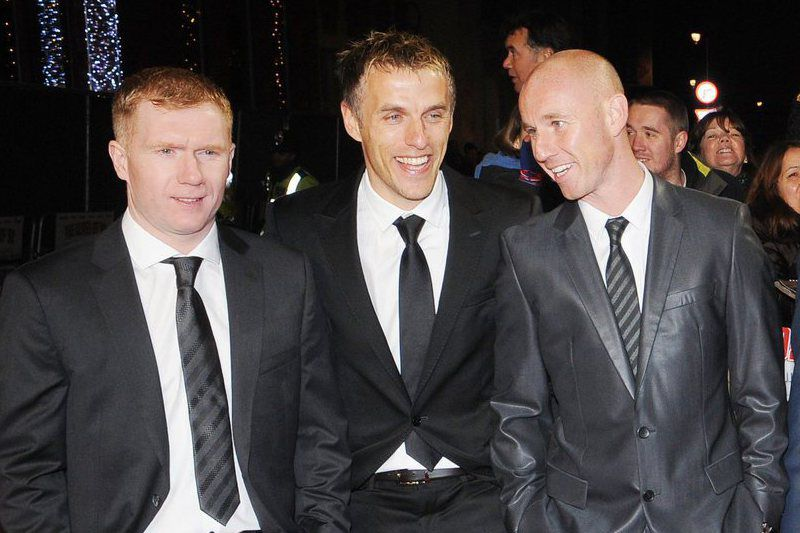Nicky Butt e Paul Scholes • Nicky Butt e Paul Scholes. • Cordon Press
