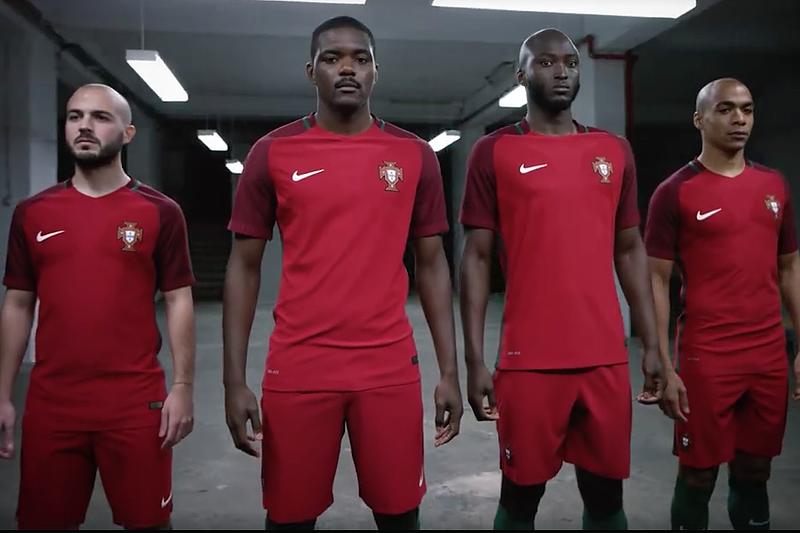 30521ee87a57f Vídeo do equipamento de Portugal para o Euro2016 - Seleção Nacional ...