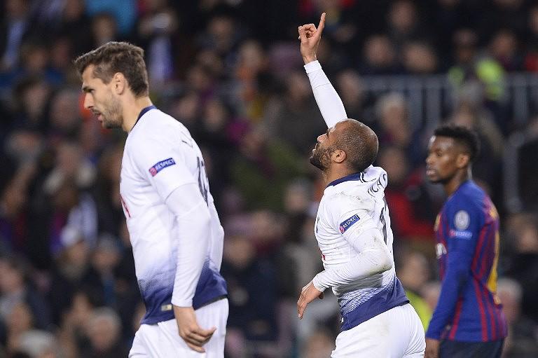 ed1effe8e4 Liga dos Campeões  Tottenham empata em Barcelona e garante apuramento para  os  oitavos