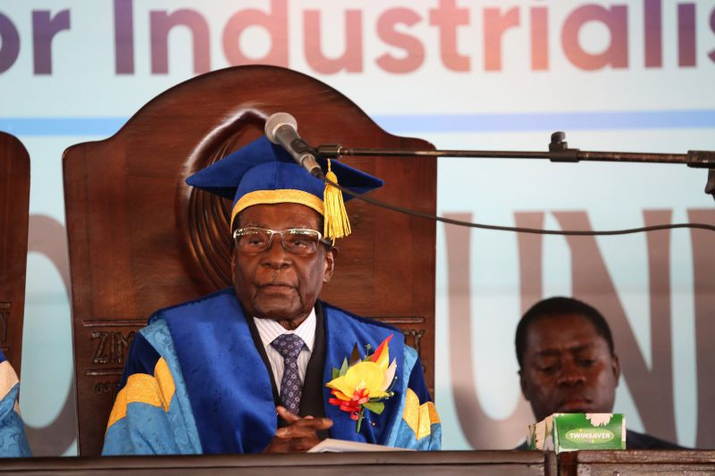 Ex-Presidente do Zimbabué Robert Mugabe morre aos 95 anos
