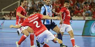 80fc87c7f8 Futsal  Taça de Portugal   Benfica e Burinhosa reeditam final no arranque  dos  quartos