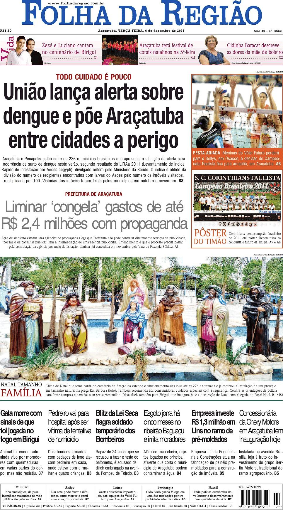 Folha da Região (6 dez 2011) - Jornais e Revistas - SAPO 24 9475118012