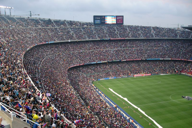 Camp Nou • Estádio do Barcelona • DR