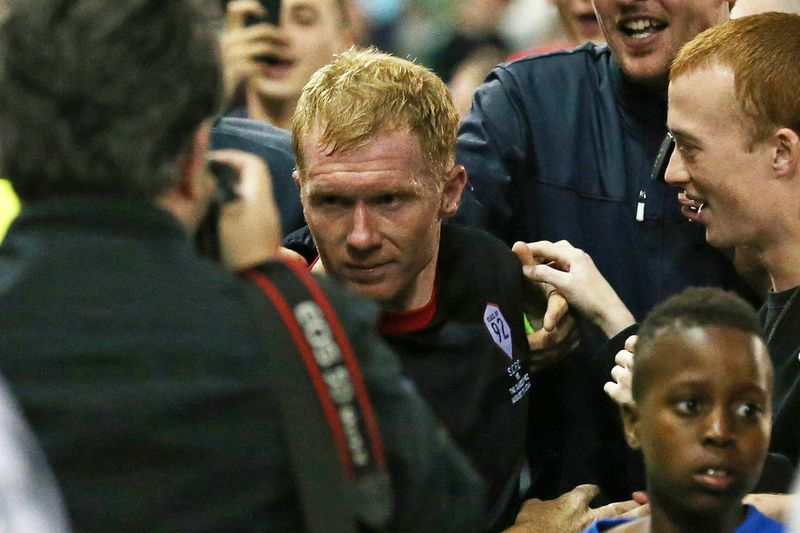 Paul Scholes • LINDSEY PARNABY / AFP