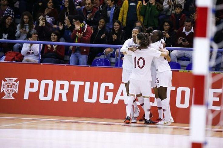 a21b205868a0c Futsal  Portugal perde com Espanha na preparação para o Europeu feminino