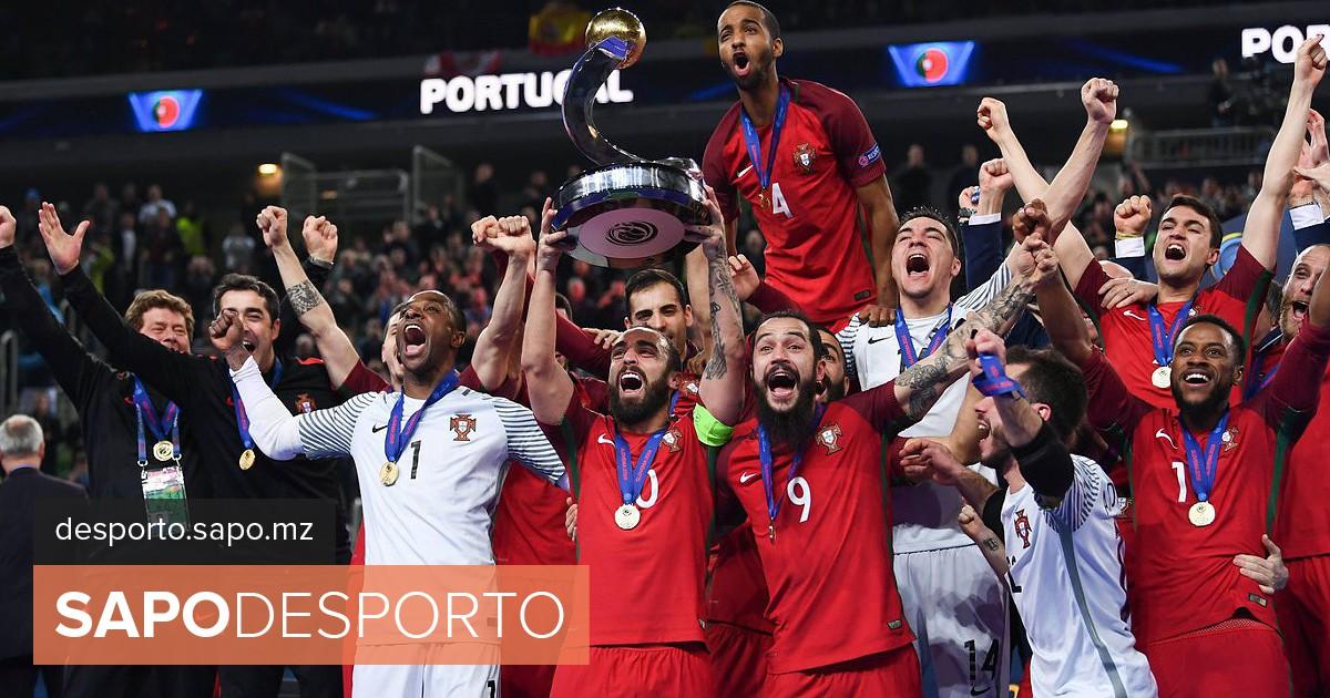 Futsal  Portugal estreia título europeu em dois particulares frente à  Sérvia - Futsal - SAPO Desporto 76eca05b987c7