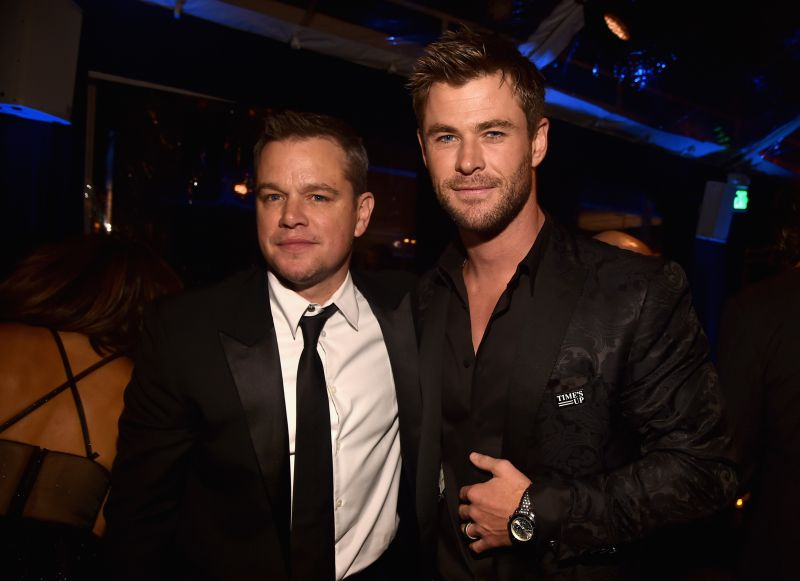 Chris Hemsworth teve de