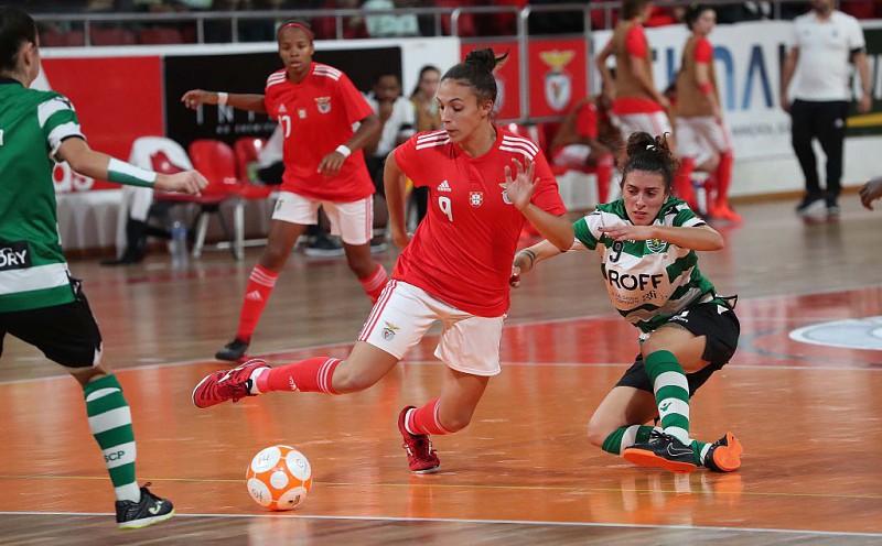 8a82a90079 Futsal feminino  Benfica vence dérbi frente ao Sporting e aumenta vantagem  na liderança