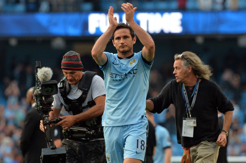 Lampard • PAUL ELLIS / AFP